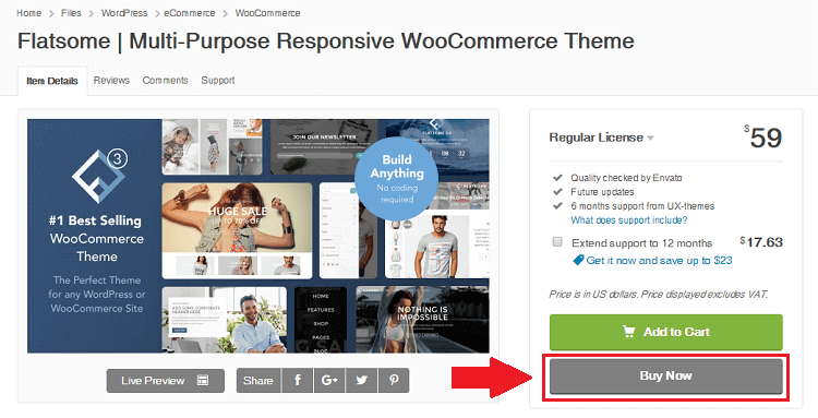 descargar plantillas woocommerce responsive en themeforest